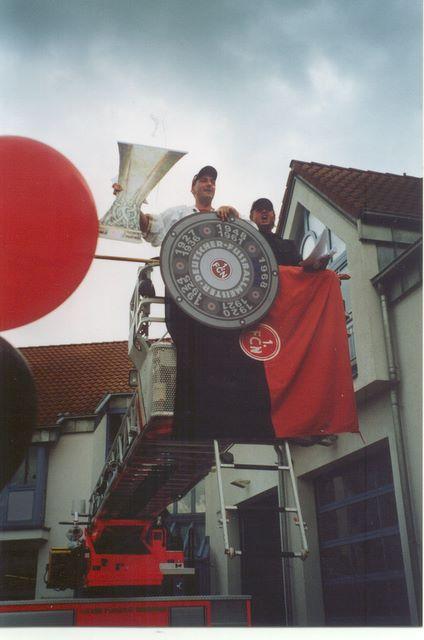 Aufstieg  2004