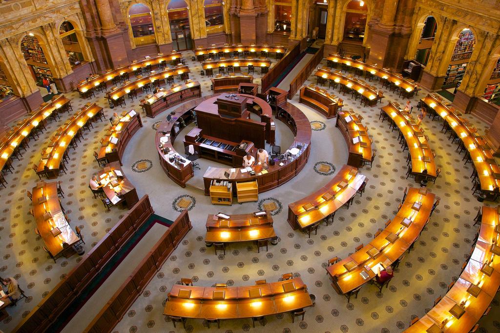 Library of Congress - Bibliothek mit dem größten Bücherbestand der Welt
