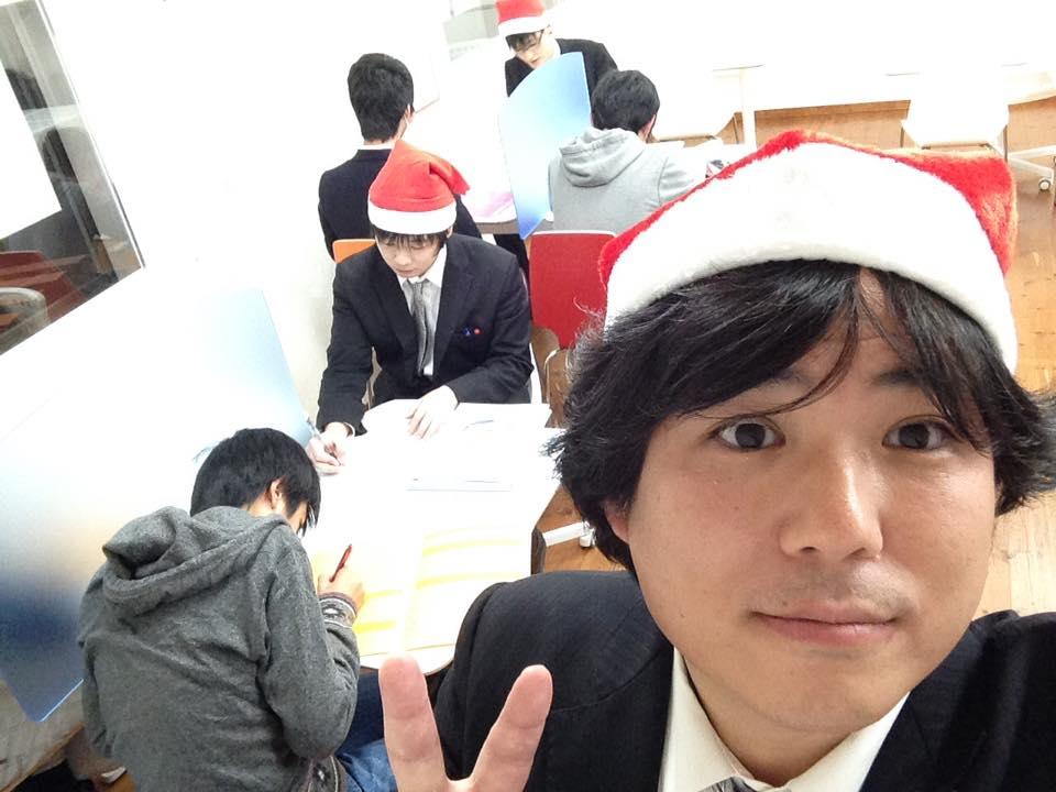 クリスマスはサンタ帽で(2016年版)