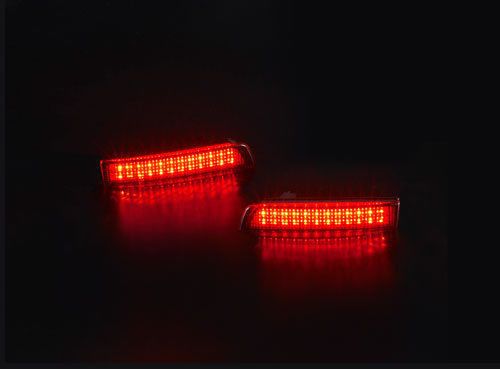 REFLECTANTES LED ROJO-75€