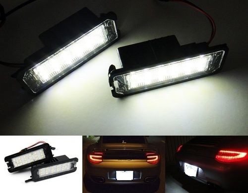 LUCES MATRICULA LED 911-997-CAYMAN-BOXTER-CAYENNE