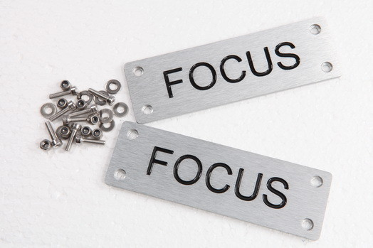 EMBLEMAS ALFOMBRILLAS FOCUS-24€