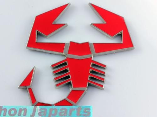 EMBLEMA ESCORPION ROJO-24€