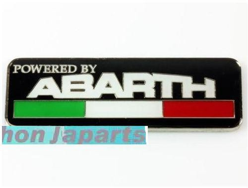 EMBLEMA POWERED BY ABARTH-20€