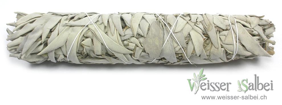 Weisser Salbei aus Kalifornien grosse Räucherbündel für Ausräucherung
