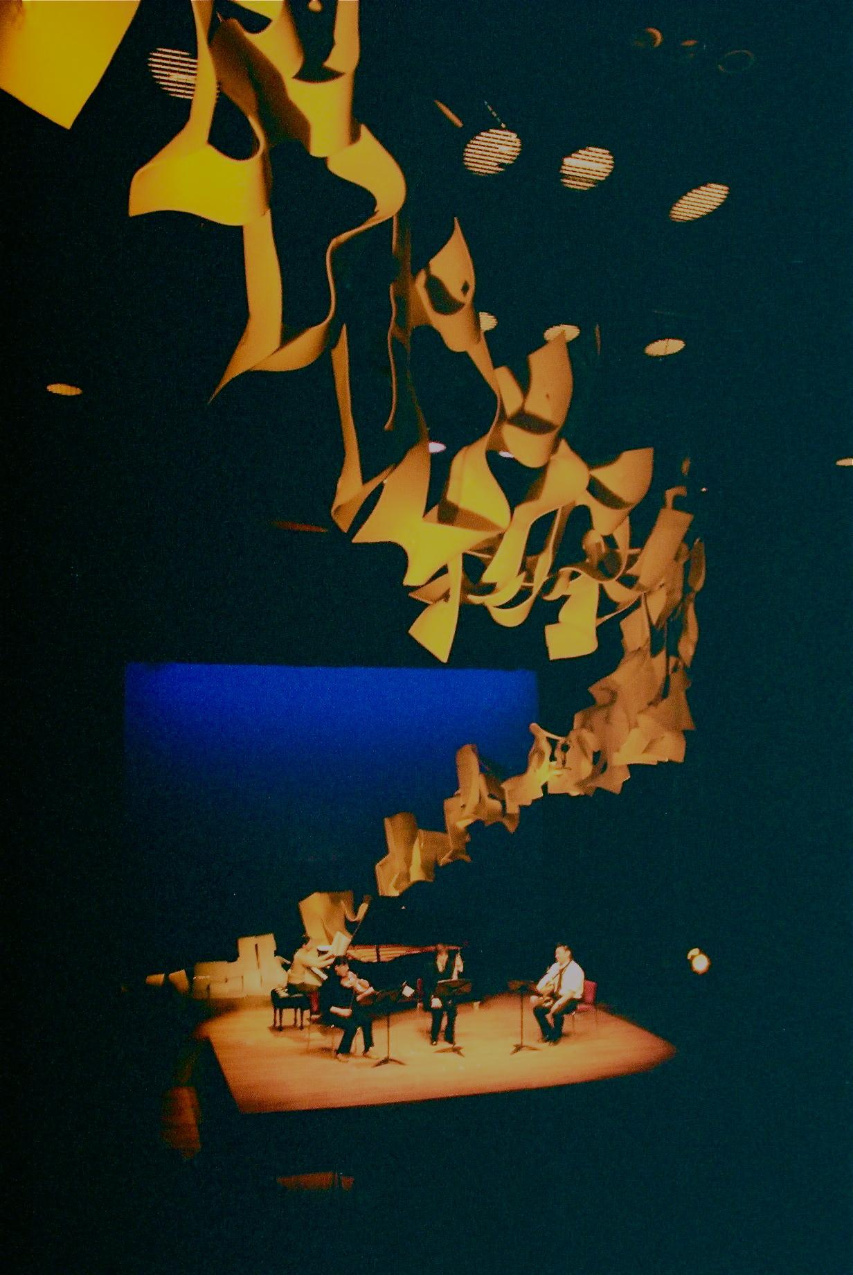 """Sight Rhythmics"" scenic arts / Tower Hall Funabori, Tokyo"