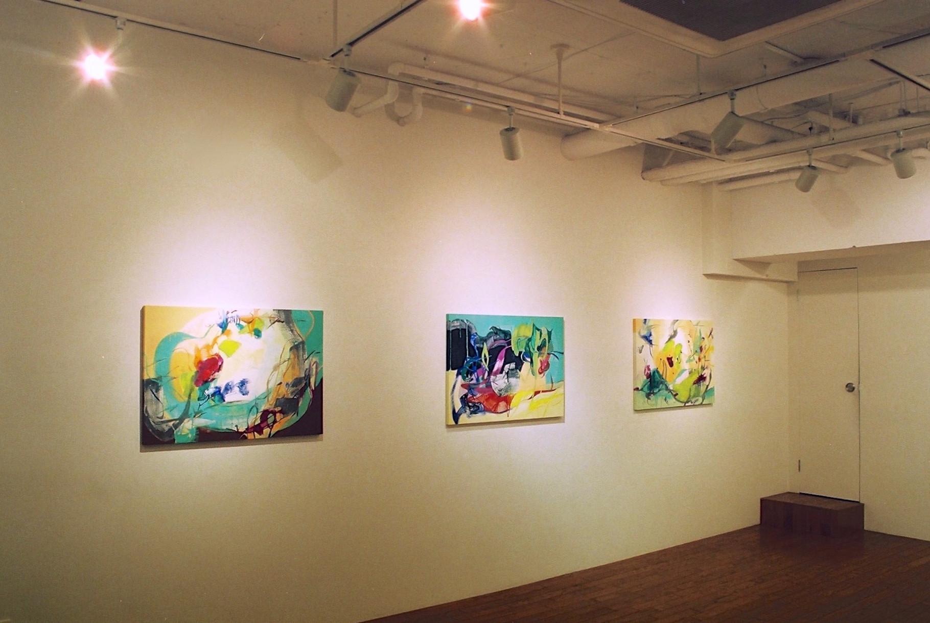"""2006 """"Hiroko UEBA Solo Exhibition"""" Gallery Satoru, Tokyo Japan"""