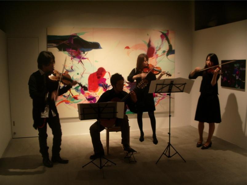 """Blessing Reception Concert"" / Mirai Gallery, Tokyo"