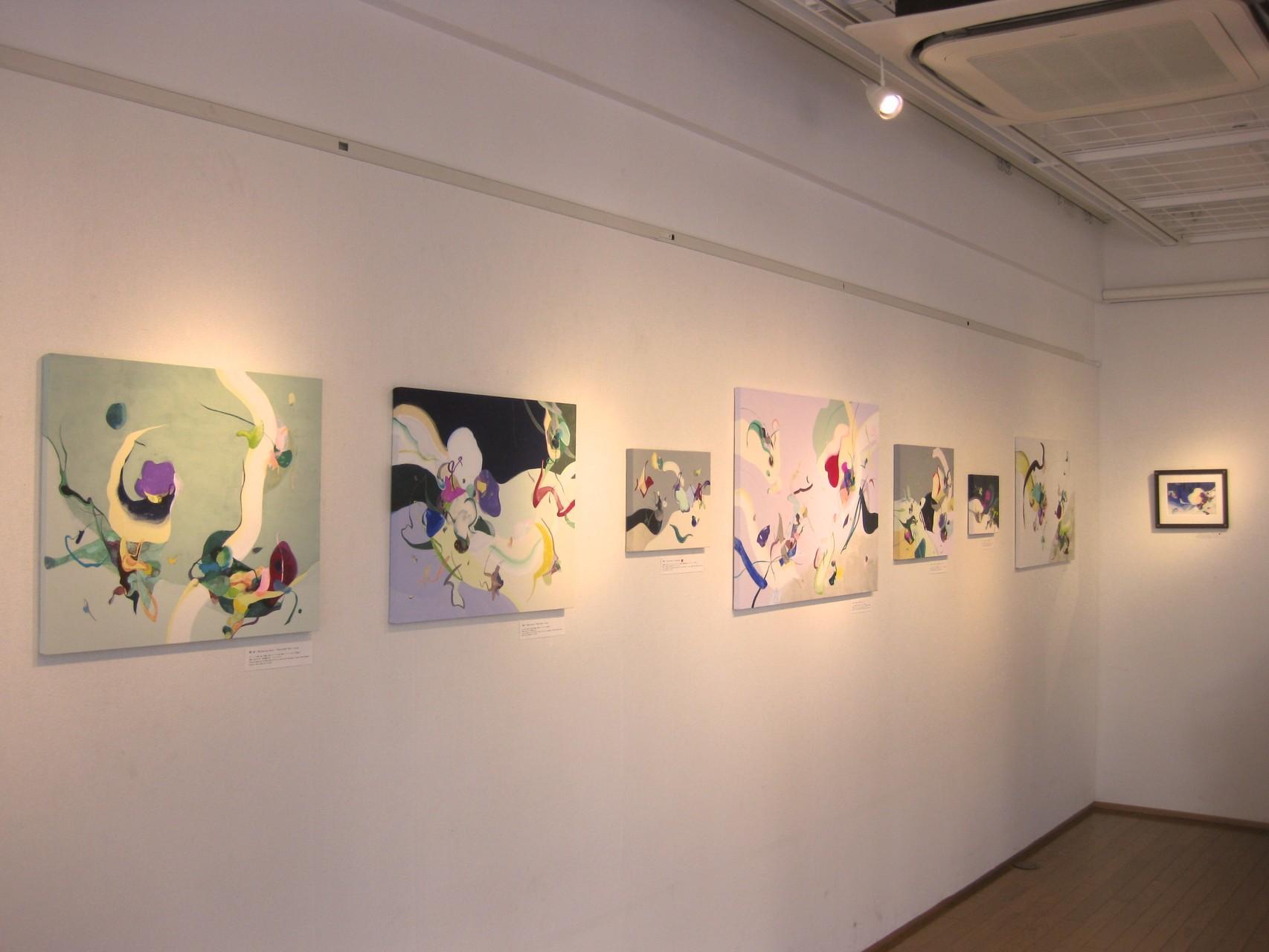 """2013 """"Die Nacht"""" Shirogane Gallery, Tokyo Japan"""