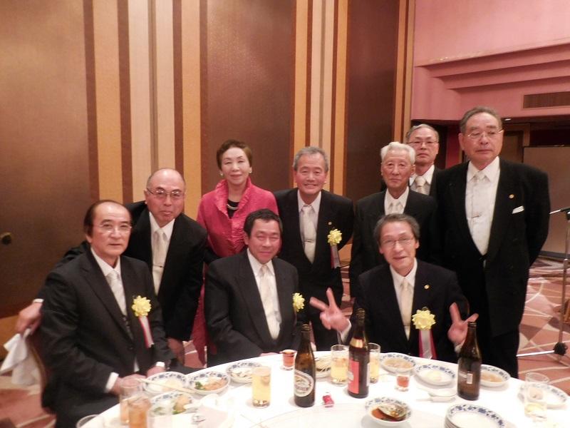 鈴木紫郎氏旭日双光章受章祝賀会 第二部 記念祝宴