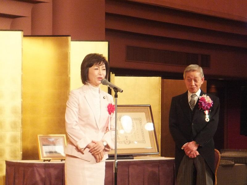 鈴木紫郎氏旭日双光章受章祝賀会 第一部 記念式典