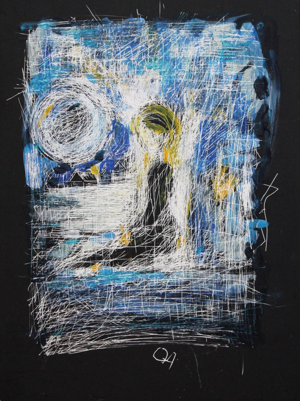 Sous le bleu de la nuit