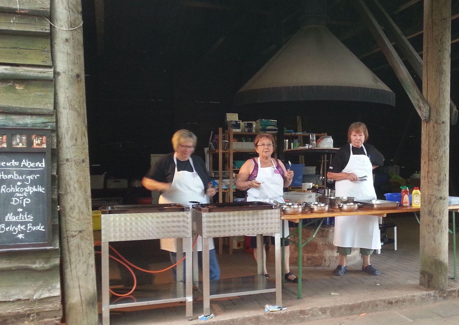 TVO Zeltlager - Das Verpflegungsteam