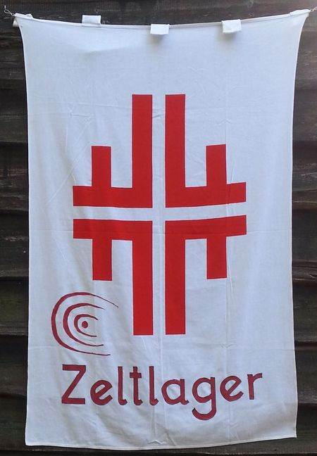 TVO Zeltlager - Die Lagerfahne