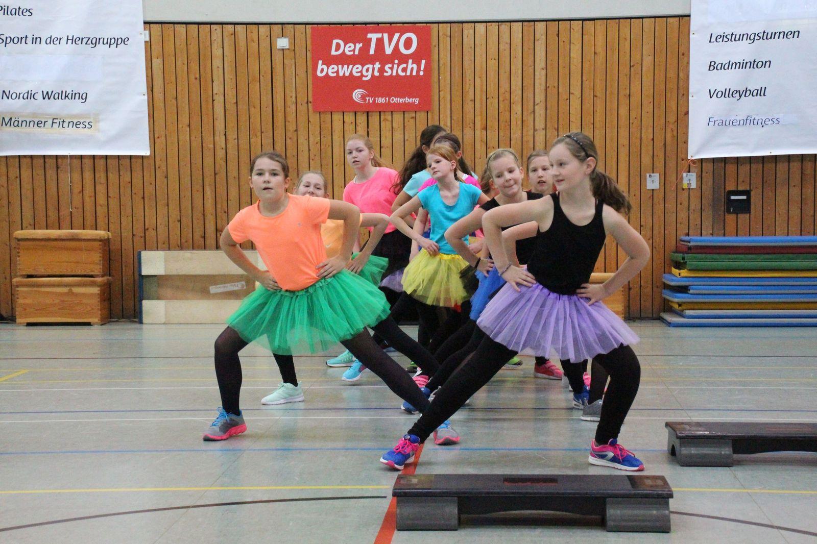 Step Aerobic Power Girls