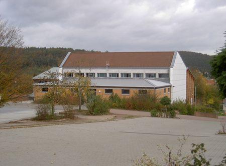 Sporthalle D der Bettina von Arnim IGS Otterberg, Schulstr. 2