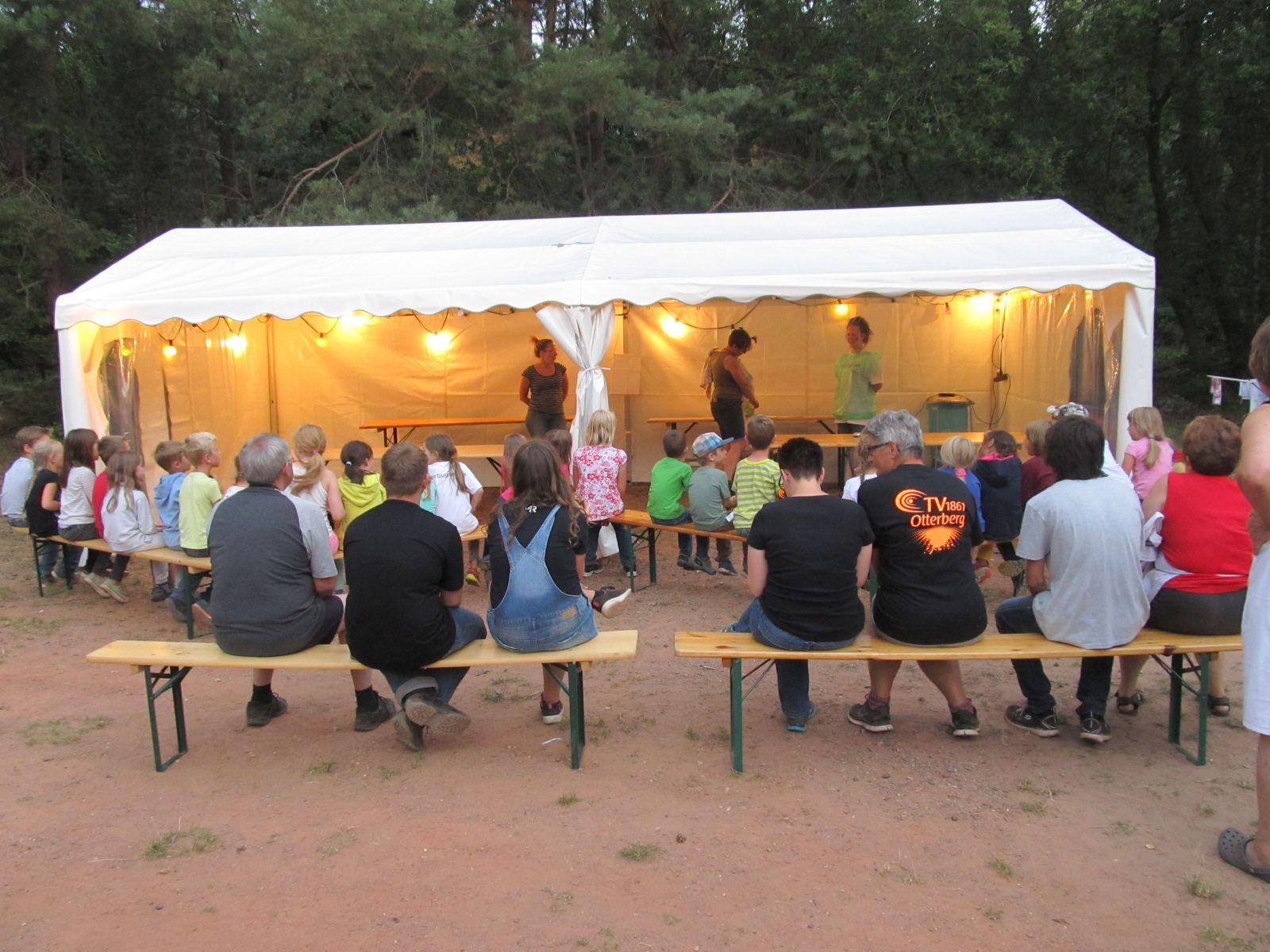 TVO Zeltlager - Vorführung