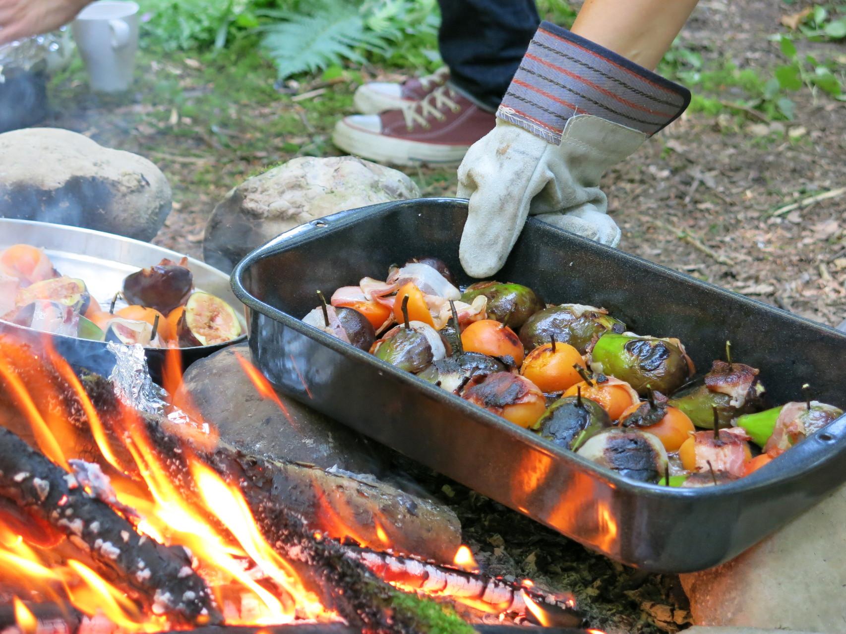 Outdoorküche nach den 5 Elementen 2014