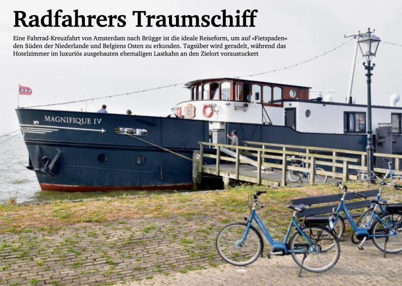 Radfahrers Traumschiff