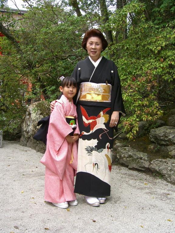 次男の婚礼・・・上賀茂神社 留袖は母の嫁入り用