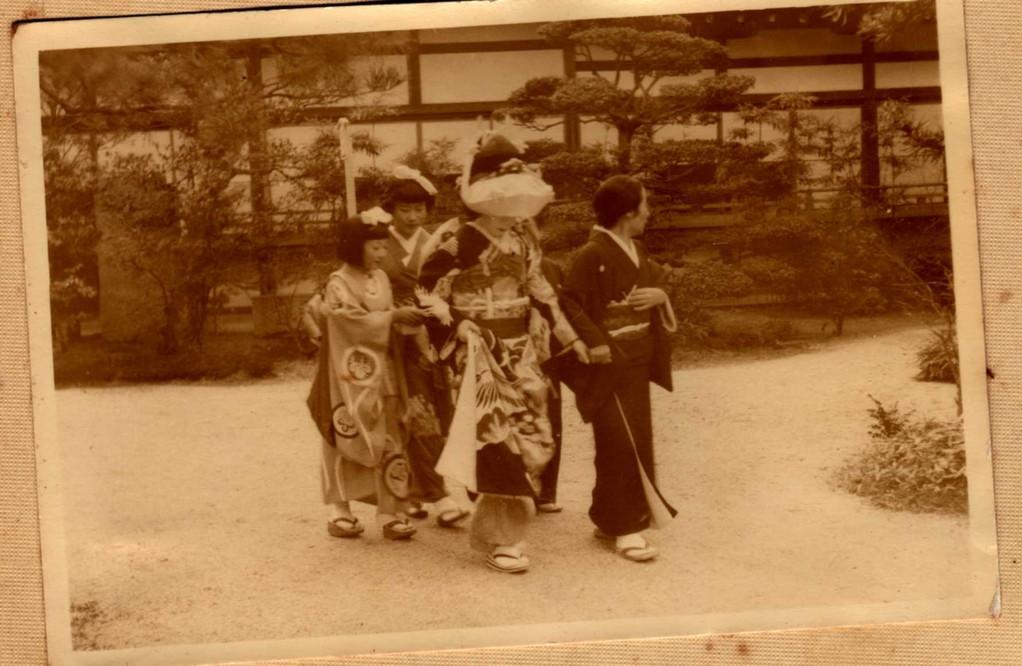 両親の婚礼・・平安神宮