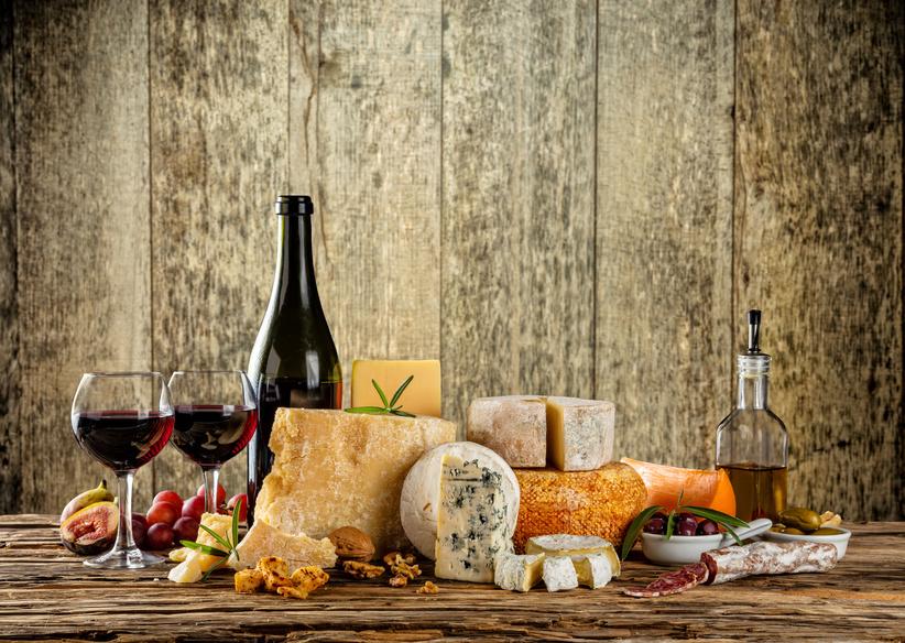 Weinhandel, Spirituosen, Feinkost
