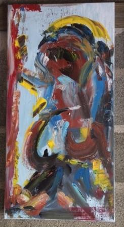 contemplary art, een bijzonder onderdeel van le dos nude. Te koop voor 175 euro