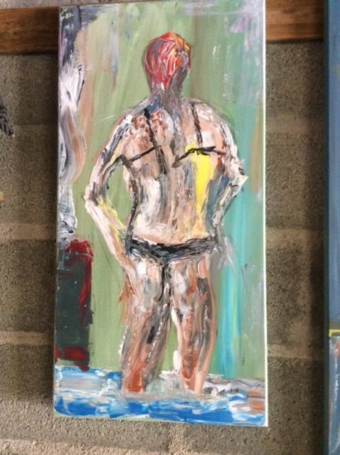"""Dit is een """"oeps""""  schilderij. Het is nog te koop, je mag er op bieden....."""