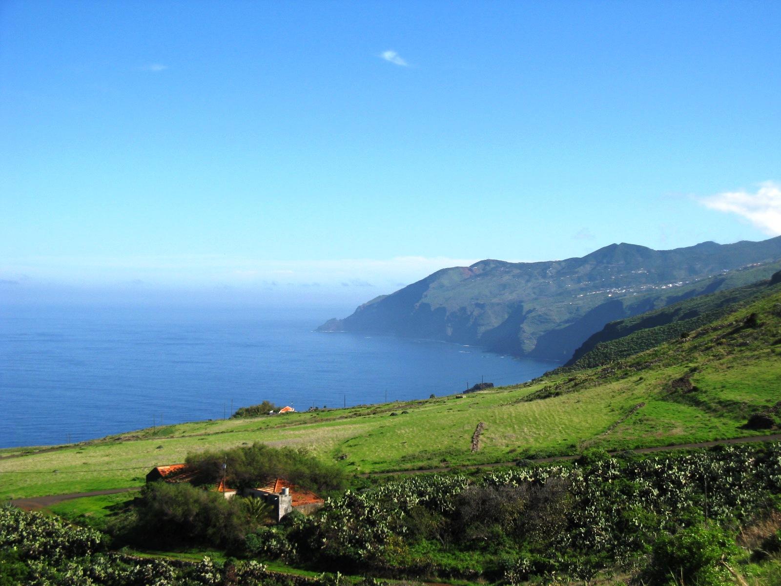 La Palma  Kanarische Inseln wilder Norden