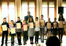 Diplom- und Urkundenüberreichung