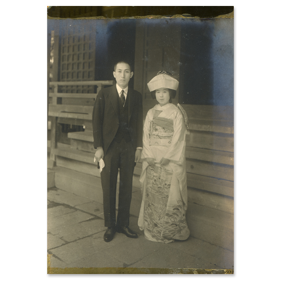 昭和初期の婚礼写真