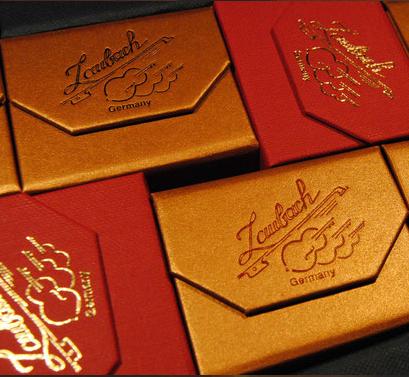 劳巴赫独奏红色和金色松香