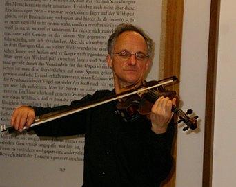 Paul Rosner solo violinist.