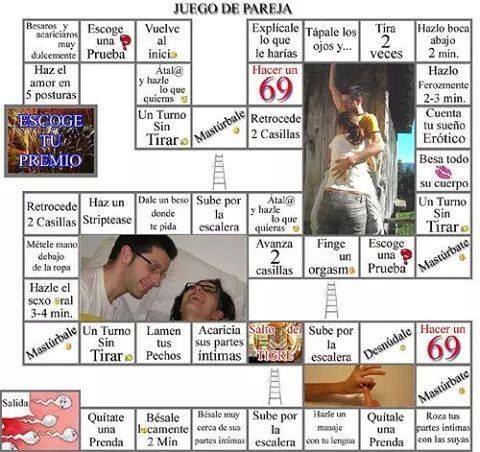 Juegos de mesa de sexo para parejas