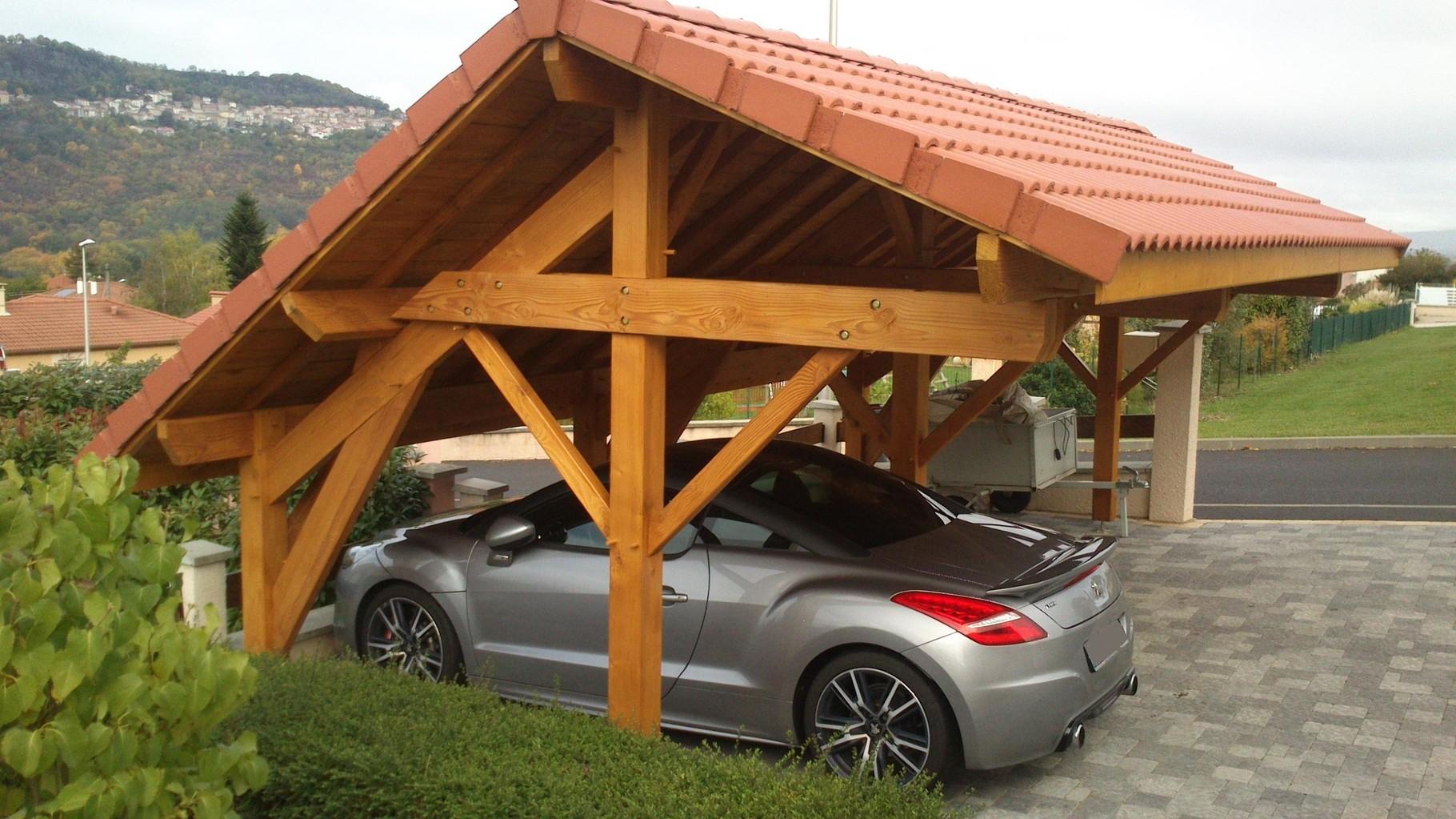 charpente bois garage camping car obtenez des id es de design int ressantes en. Black Bedroom Furniture Sets. Home Design Ideas