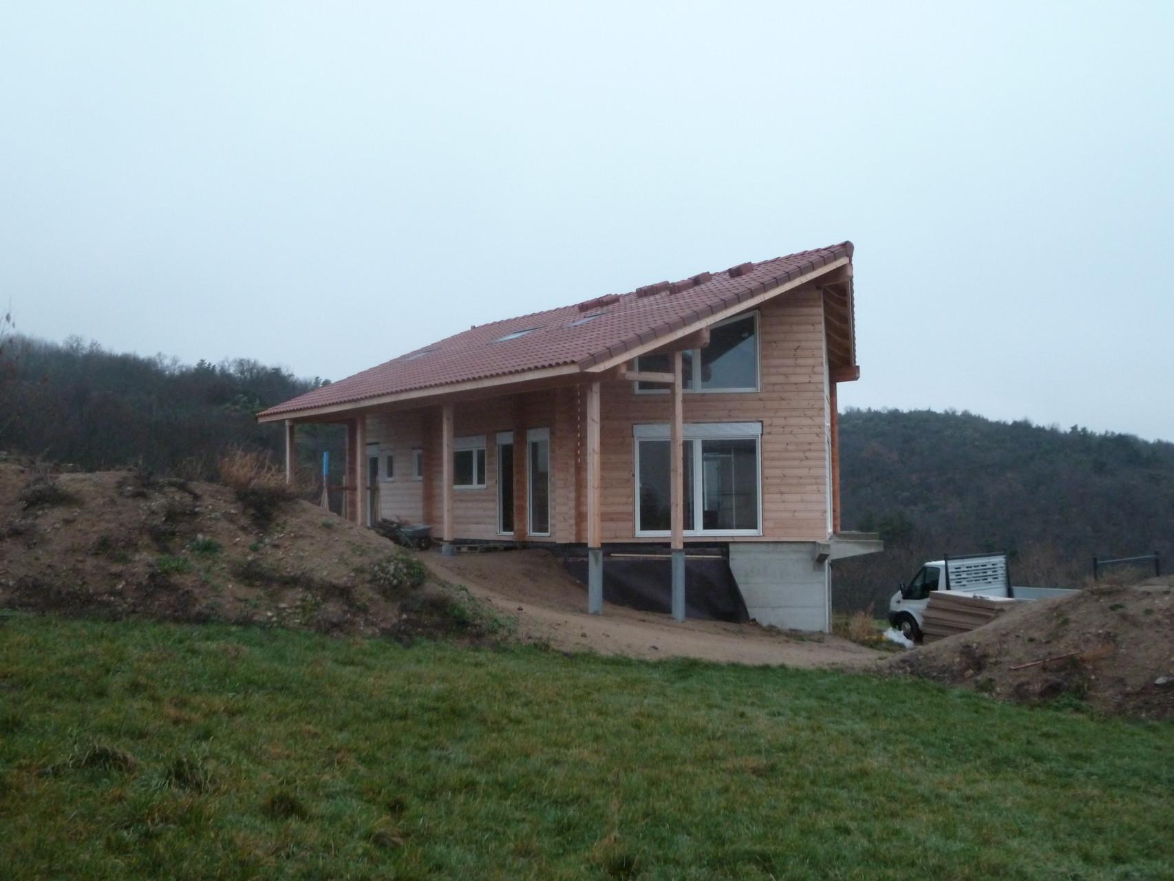 Maisons bois, Clermont ferrand, Auvergne,63 castor bois construction # Maison Bois Auvergne