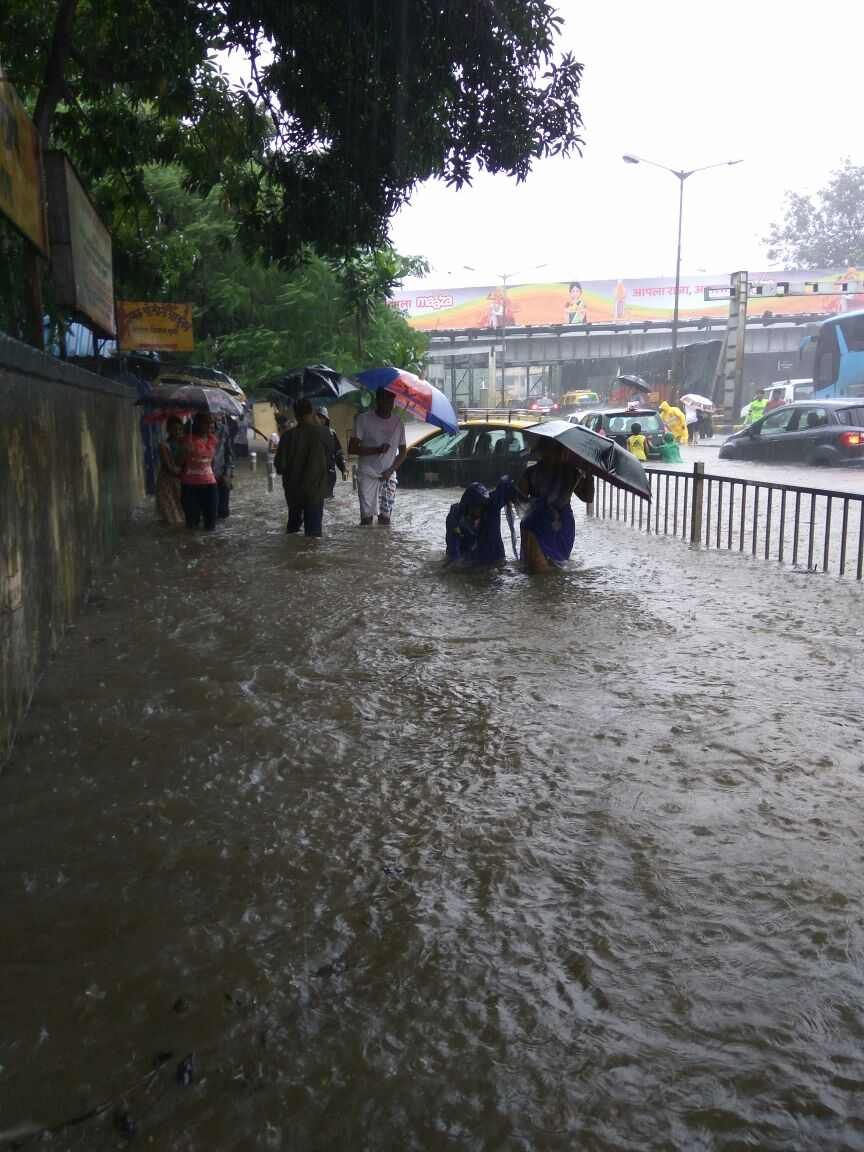 Mumbai Überschwemmung am 28. August