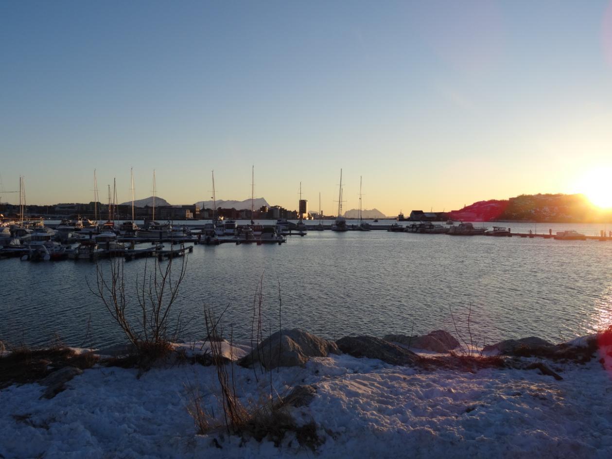 Der Hafen von Bodø