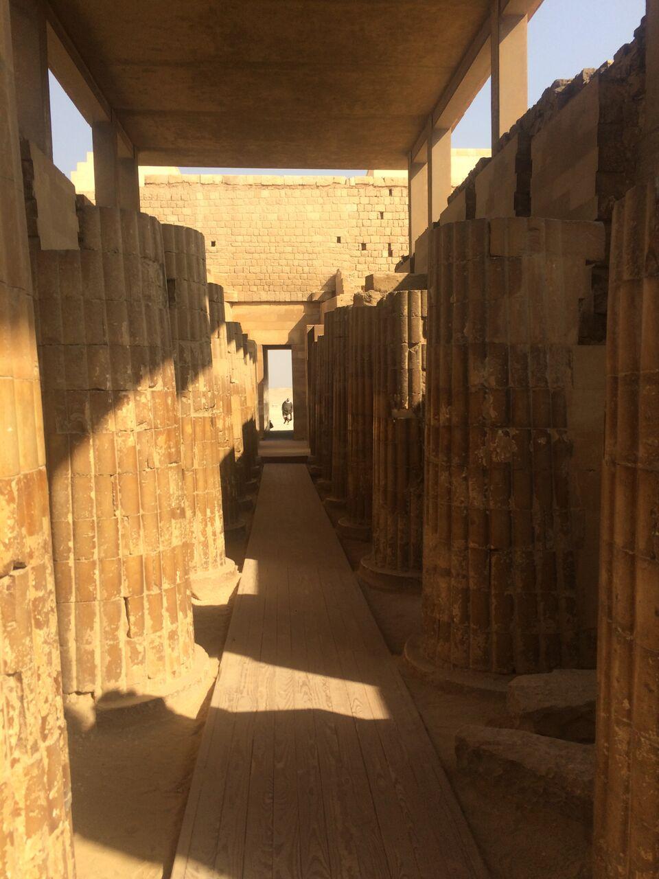 Tempelanlage in Sakkara