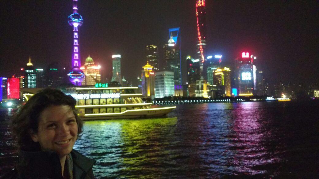 Shanghai - Klar, kennt man von Postkarten. Schmälert das Erlebnis nicht im Mindesten!