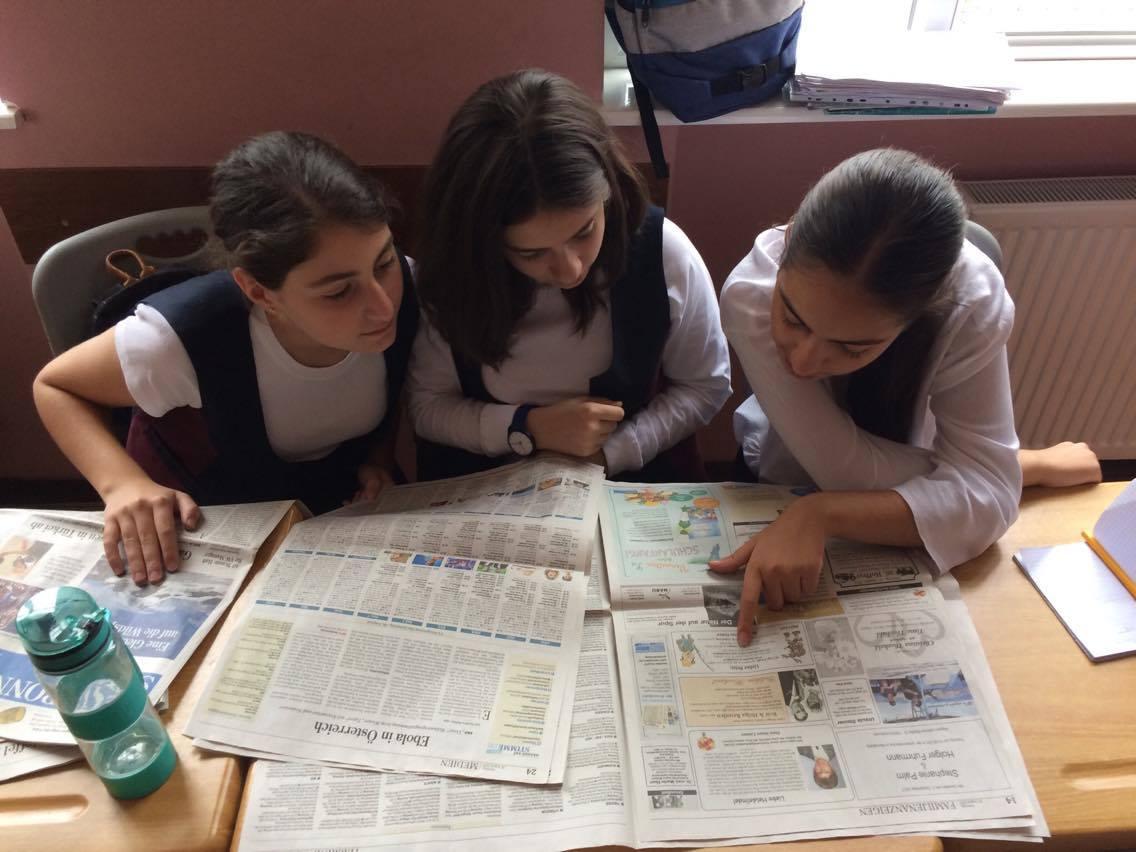Das Zeitungsprojekt