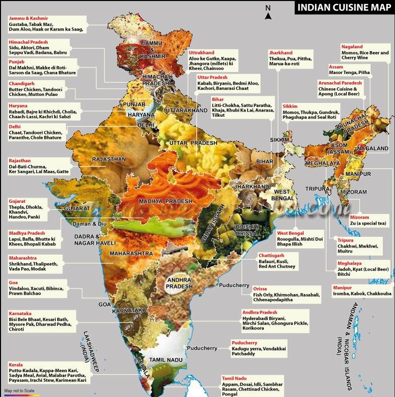 Sprache, Kultur, Wassergeschmack und Essen: Die multikulturelle Verkostung in Indien (2)