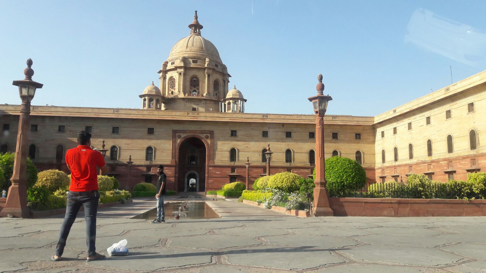 Sightseeing in New-Delhi - Tag 1