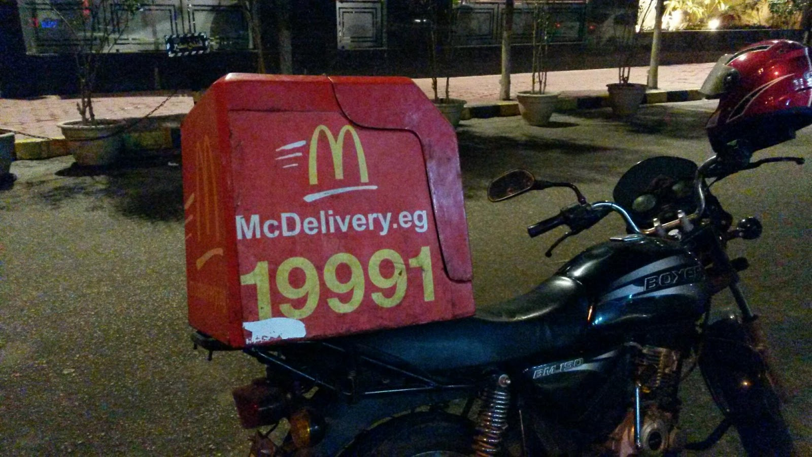 #MCDelivery