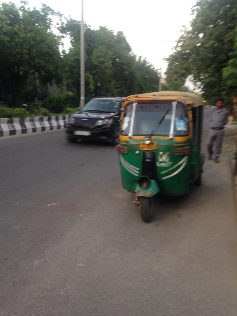 motorisierte Riksha