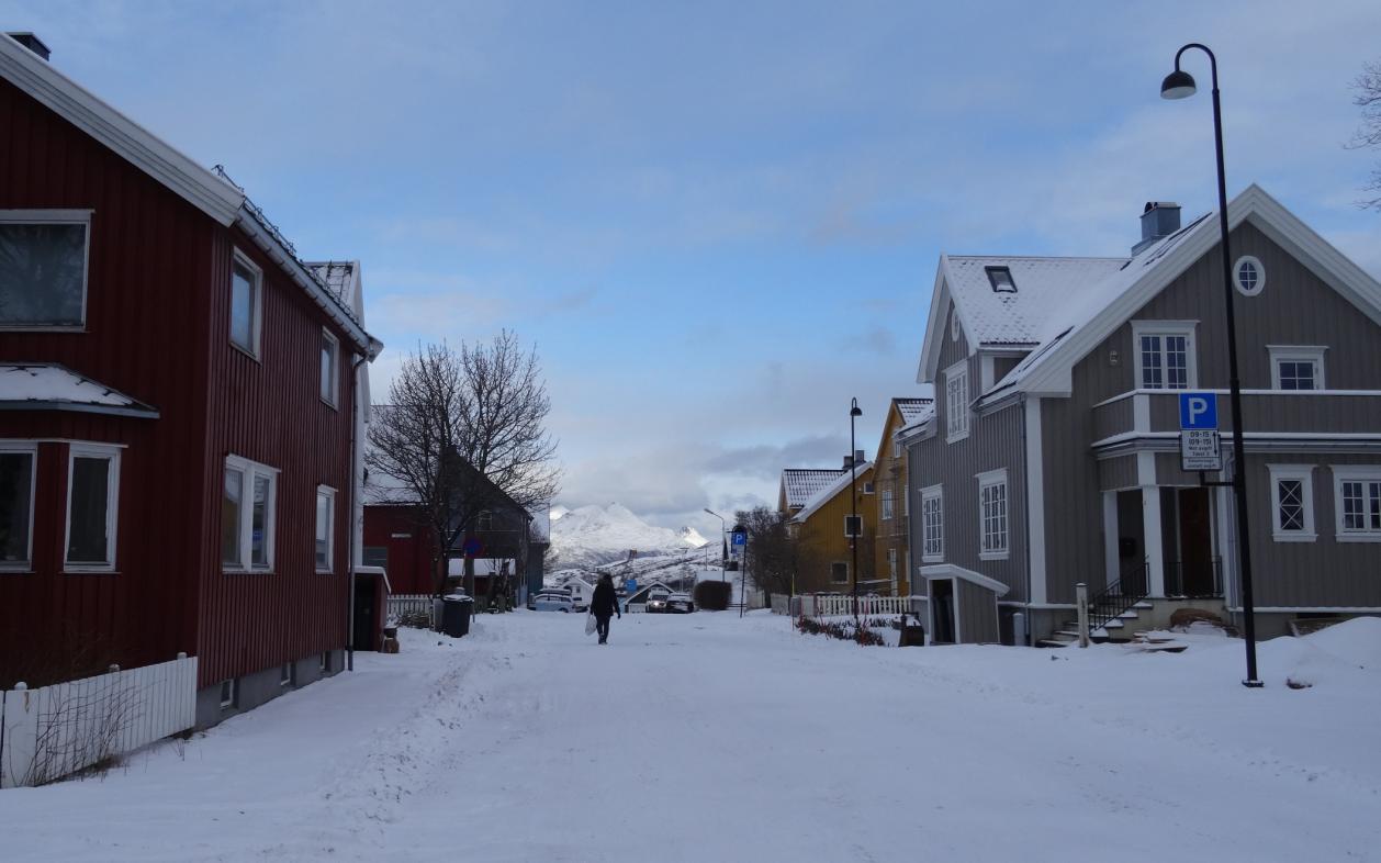 Straßen in Bodø