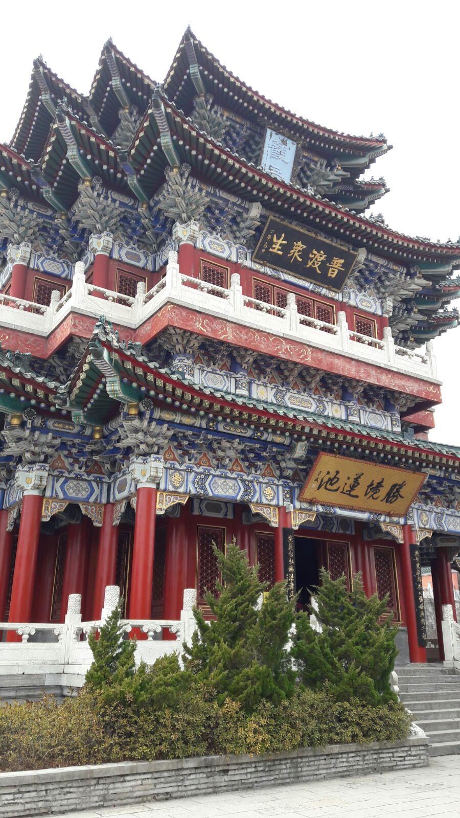 Buddhistischer Tempel auf dem Tianshan