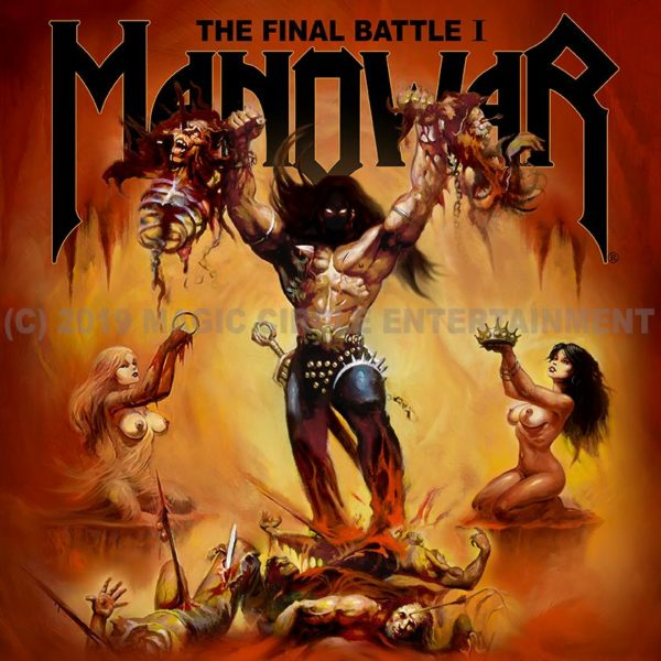 Manowar - The Final Battle I EP Cover