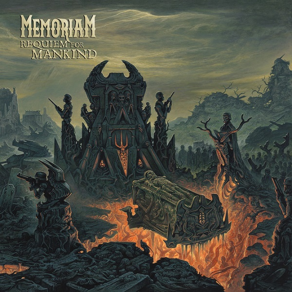 Memoriam -Requiem For Mankind Albumcover 2019