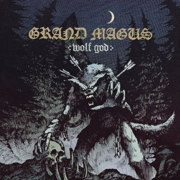 Grand Magus Wolf God Albumcover